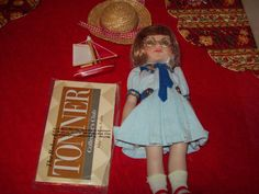 """Ann Estelle Doll 10"""" Boating Party"""