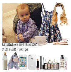 """""""Babysitting Doris (my little princess) at Jay's house - Louis' girl"""" by jaynnelinsstyles ❤ liked on Polyvore"""