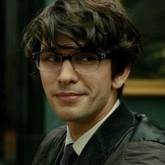 Ben Whishaw as 'Q' in Spectre and Skyfall wearing Univo U5 glasses! | SelectSpecs.com