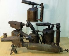 Online veilinghuis Catawiki: Kavel van 5 antieke soldeerbouten