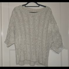 H&M Beige Cowl Neck Sweater Comfy cowl neck sweater. Great beige ...