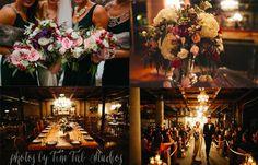 Romantic Vintage Winter Elegance | Salvage One Wedding Flowers | Chicago Wedding Florist www.kiokreations.com