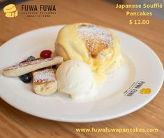 The best Japanese Soufflé Pancakes in Toronto If you've never tried a Japanese pancake, there's a new cafe open this weekend in Toronto, visit the first Soufflé Pancake Shop. Toronto Cafe, Downtown Toronto, Pancake Shop, Fuwa Fuwa, Souffle Pancakes, Japanese Pancake, News Cafe, Organic Eggs, Fluffy Pancakes