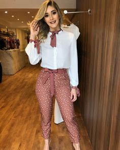preppy outfits for school Casual Work Outfits, Preppy Outfits, Business Casual Outfits, Classy Outfits, Chic Outfits, Spring Outfits, Work Fashion, Fashion Pants, Fashion Dresses