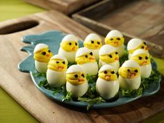 QVC host David Venable shares his recipe for Deviled Egg Chicks..how cute!