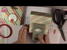 ▶ Tutorial: Papiertasche/Paperbag mit Material von Stampin' Up! - YouTube