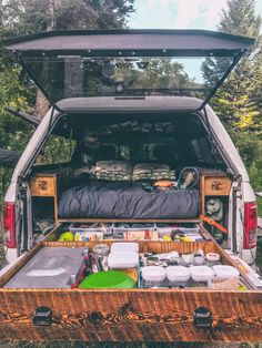 Camping Van Videos - Camping Fun At Night - - Camping Trailer Must Haves - Scout Camping Theme - Truck Topper Camping, Truck Toppers, Truck Camping, Minivan Camping, Pickup Camping, Truck Bed Camper, Camper Life, Truck Camper Shells, Kangoo Camper