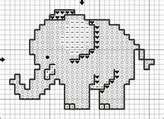 elephant cross stitch
