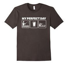: My Perfect DayFly Fishing T-Shirt: Clothing
