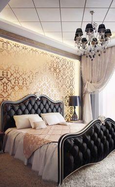 Luxury bedroom.
