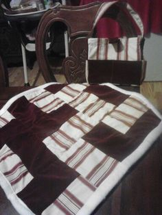 Doll quilt and diaper bag