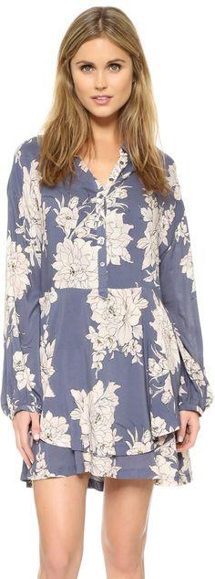 af7eb6fbb10 Free People Shake It Print Mini Dress. International Fashion ...