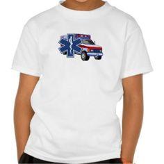 EMS EMT Paramedic Family and Kids Shirts