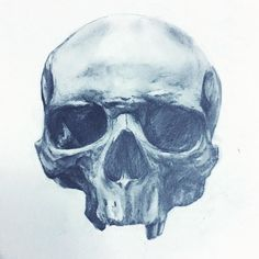 Sketch from last week. Join me on IG in an hour and keep me company while I paint. #art #models #skull #drawing #dark #goth #macabre #humanskull #bones #gothic #draw #realism #illustration #shadow #pale #graphite #illustrator #artists #science #anatomy #lightandshadow #vintage #fashion #allsaints #alternative