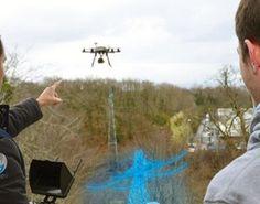 Drony będą widzieć w rzeczywistości rozszerzonej