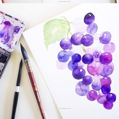 Ever wanted to know how to paint loose in watercolors.This detailed tutorial will walk you through it all.