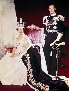 HM Queen Elizabeth II and Prince Phillip.