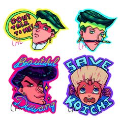 i want these in posters and pins