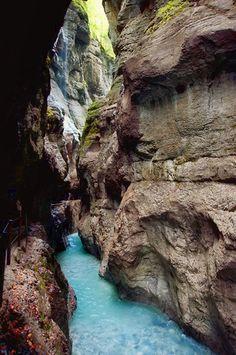 Partnachklamm Gorge, southern Germany