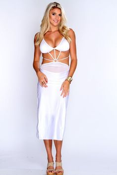 Women's Clothing Intelligent Hottest Sexy Woman Halter Neck Off Shoulder Long Sleeve Tops Elastic Waist Package Hips Sheer Mesh Skirt Suit Night Out Clubwear Good Heat Preservation