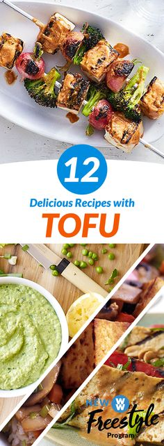 12 Delicious Tofu Recipes | Anything but basic! Here's a collection of tasty recipes that vegetarians & vegans are sure to love!