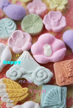 一富士二鷹三なすび〜♪ たねやさんのお干菓子で Kawaii~♪Hunter Journal * nagoya