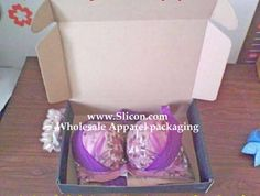 open - Bra Shipping Box for Clothing Packaging, Custom Packaging, Packaging Manufacturers, Shipping Boxes, Bra Lingerie, Wholesale Clothing, Custom Clothes, Sexy Bra, Gifts