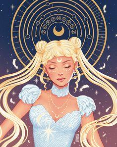 Immagine di fanart, sailor moon, and usagi tsukino Sailor Moons, Sailor Moon Fan Art, Sailor Moon Usagi, Sailor Moon Crystal, Sailor Venus, Kawaii 365, Arte Do Kawaii, Sailor Moon Personajes, Sailor Moon Aesthetic