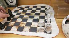 Handmade Raku Ceramic Chess Unboxing   Intuita Shop Chess, Ceramics, Make It Yourself, Handmade, Shopping, Gingham, Ceramica, Pottery, Hand Made