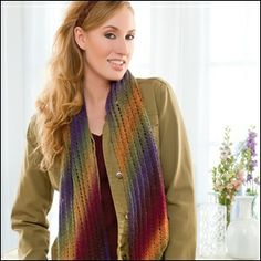 Great Wide Open -- Un-Biased Scarf.