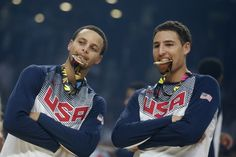 With Klay Thompson coming on for Golden State, is there any doubt about the league's best back court? | Stephen Curry Splashbrothers