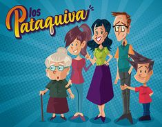 "Check out new work on my @Behance portfolio: ""Los Pataquiva"" http://be.net/gallery/65230499/Los-Pataquiva"