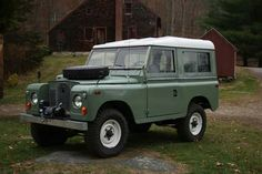 Land Rover 88 Serie II A SWB with winch. Good loock.