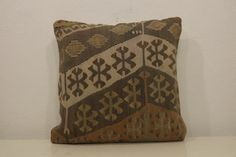 18''x 18''45 x 45 cm Turkish Kilim pillows Turkish by kilimci