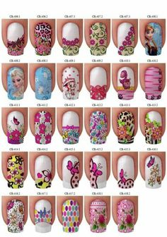 Barbies, mariposas, flores