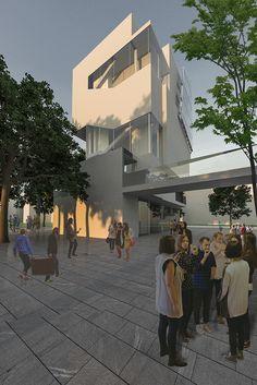 Art Academy, City Life, Competition, Street View, France, Paris, Architecture, Buildings, Instagram