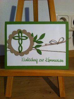 Kommunion Invetation, Kommunion Einladung