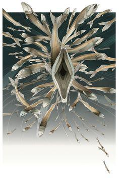 Bristlemouth Fish