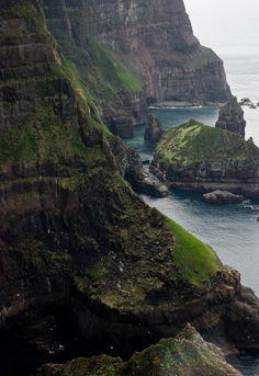 Suðuroy Cliffs, Faroe Islands by Felix van de Gein