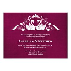 Sold this #swans #wedding #invitations to United Kingdom. Thanks for you who purchased this.