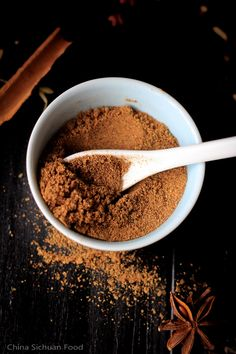 Five Spice Powder—Basic Homemade Version – China Sichuan Food Homemade Spices, Homemade Seasonings, Spice Blends, Spice Mixes, Cooking Ingredients, Cooking Recipes, Vegan Recipes, Chinese Five Spice Powder, Dressings