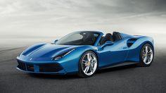 2016 Ferrari 488 Spider http://www.wsupercars.com/ferrari-2016-488-spider.php
