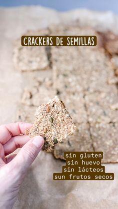 Sin Gluten, Gluten Free Recipes, Low Carb Recipes, Comida Keto, Granola, Crackers, Ketogenic Diet, Healthy Life, Picnic