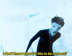 mygif Pitch Black plus jack frost rise of the guardians rotg gif:rotg sorry the first gif wouldn't cooperate with the coloring queue merely adopted the dark otp: i understand