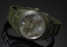 Bamford Watch Department Commando Edition Customized Rolex Watches