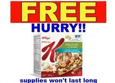 FREE Kellogg's Special K Nourish bars with Quinoa