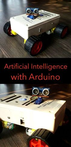 This robot was mainly built for understanding artificial intelligence with Arduino. It is capable of, obstacle avoidance, voice control, chatting with humans, Bluetooth control as well as gesture cont (Diy Tech) Artificial Intelligence Article, Machine Learning Artificial Intelligence, Artificial Intelligence Technology, Diy Electronics, Electronics Projects, Computer Projects, Electronics Accessories, Simple Arduino Projects, Arduino Programming