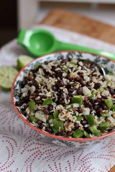 Black Bean and Rice Salad | Aggie's Kitchen