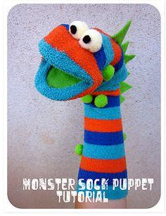 Monster Sock Puppet Tutorial
