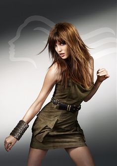 Wella long brown Hairstyles
